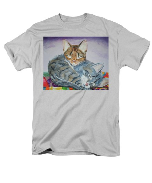 Men's T-Shirt  (Regular Fit) featuring the painting Nap Time by Thomas J Herring