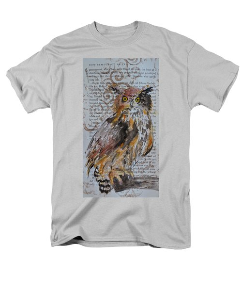 Nature Prevails Original Version Men's T-Shirt  (Regular Fit) by Beverley Harper Tinsley