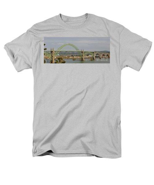 Men's T-Shirt  (Regular Fit) featuring the photograph Newport Bay Bridge by Susan Garren