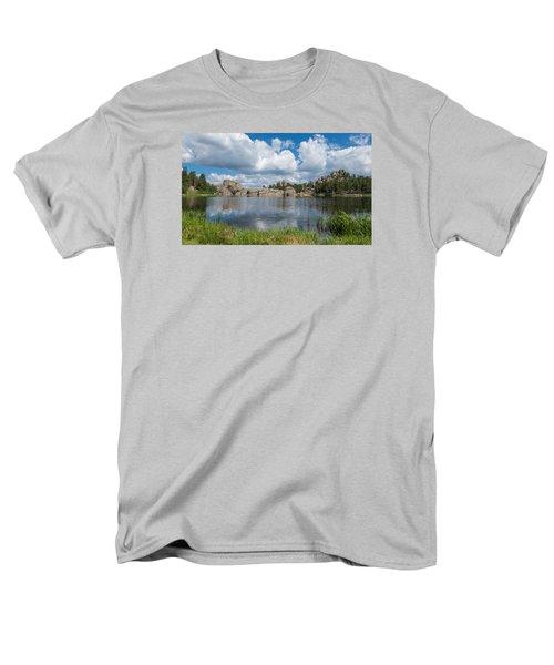 Sylvan Lake South Dakota Men's T-Shirt  (Regular Fit) by Patti Deters