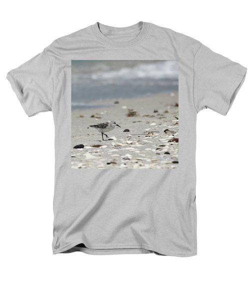 Nokomis Beach Piper Men's T-Shirt  (Regular Fit) by Susan Molnar