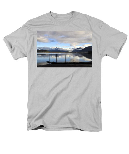 Men's T-Shirt  (Regular Fit) featuring the photograph North Douglas Reflections by Cathy Mahnke