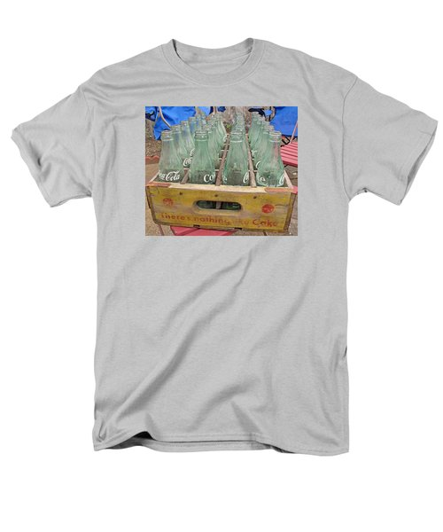 Men's T-Shirt  (Regular Fit) featuring the photograph Nothing Like A Coke by Barbara McDevitt