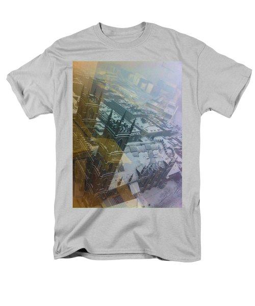 Notre Dame On The Vertical Men's T-Shirt  (Regular Fit) by Valerie Rosen