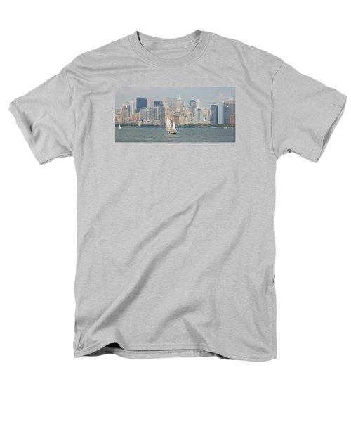 Ny City Skyline Men's T-Shirt  (Regular Fit)