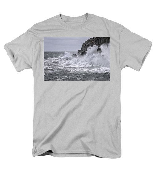 Ocean Surge At Gulliver's Men's T-Shirt  (Regular Fit) by Marty Saccone