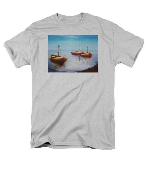 Oil Msc 023  Men's T-Shirt  (Regular Fit) by Mario Sergio Calzi