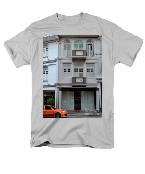 Men's T-Shirt  (Regular Fit) featuring the photograph Old House And Funky Orange Car by Imran Ahmed