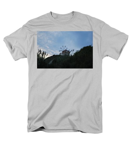 Old Wind Mill 1830 Men's T-Shirt  (Regular Fit) by George Katechis