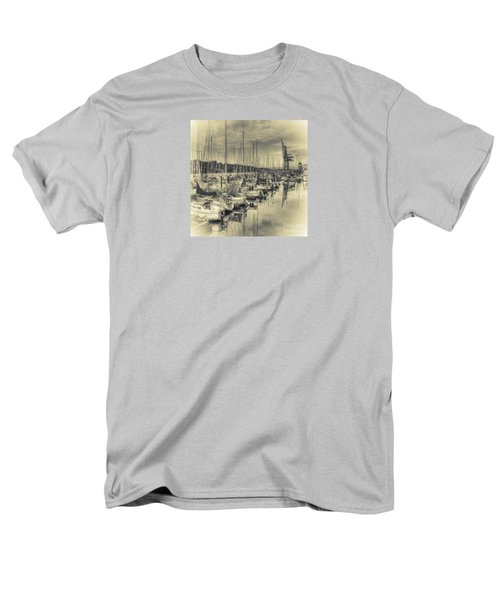 Men's T-Shirt  (Regular Fit) featuring the photograph Olympia Marina 3 by Jean OKeeffe Macro Abundance Art