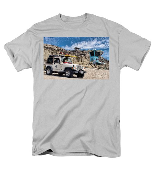 On Duty Men's T-Shirt  (Regular Fit) by Peggy Hughes