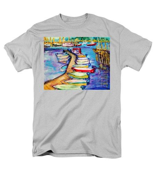 On The Boardwalk Men's T-Shirt  (Regular Fit) by Helena Bebirian