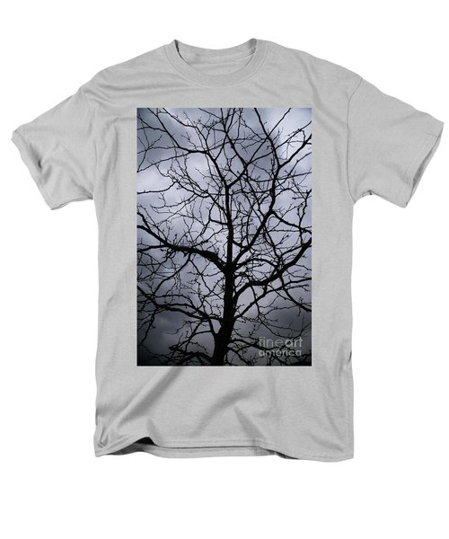 Men's T-Shirt  (Regular Fit) featuring the photograph On Their Shoulders Held The Sky by Linda Shafer
