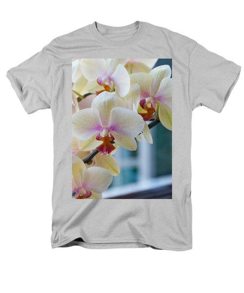 Orchids In The Morning Light Men's T-Shirt  (Regular Fit) by Debbie Karnes