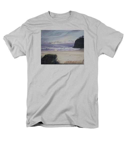 Men's T-Shirt  (Regular Fit) featuring the painting Oregon Coast by Ian Donley