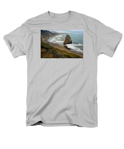 Oregon Coast Men's T-Shirt  (Regular Fit) by Priscilla Burgers