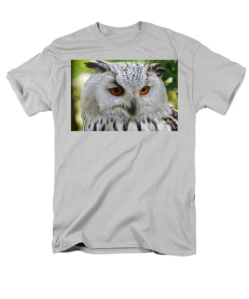 Men's T-Shirt  (Regular Fit) featuring the photograph Owl Bird Animal Eagle Owl by Paul Fearn