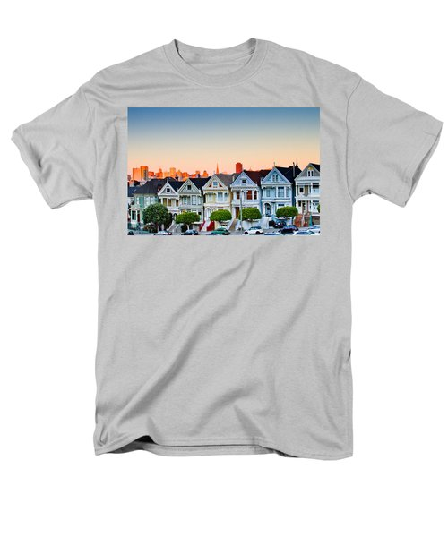 Painted Ladies Men's T-Shirt  (Regular Fit) by Bill Gallagher