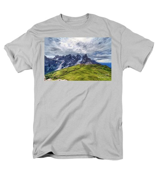 Men's T-Shirt  (Regular Fit) featuring the photograph Pale San Martino - Hdr by Antonio Scarpi