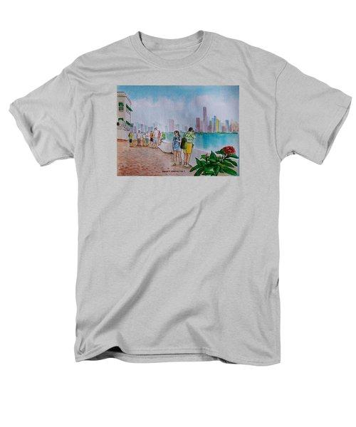 Panama City Panama Men's T-Shirt  (Regular Fit) by Frank Hunter