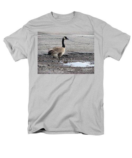 Men's T-Shirt  (Regular Fit) featuring the photograph Parking Lot Attendant by Michael Krek