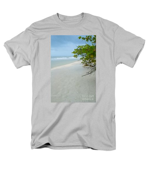 Peace And Quiet On Sanibel Island Men's T-Shirt  (Regular Fit) by Jennifer White