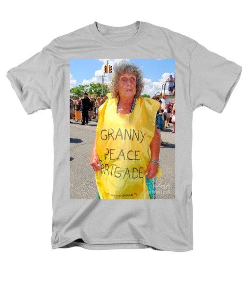 Men's T-Shirt  (Regular Fit) featuring the photograph Peace Granny by Ed Weidman