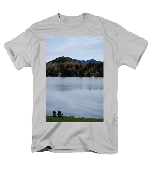 Peaceful Evening At The Lake Men's T-Shirt  (Regular Fit) by Terry DeLuco