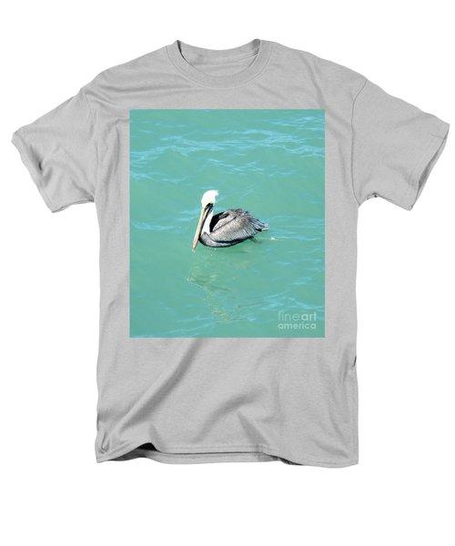 Men's T-Shirt  (Regular Fit) featuring the photograph Pelican by Oksana Semenchenko