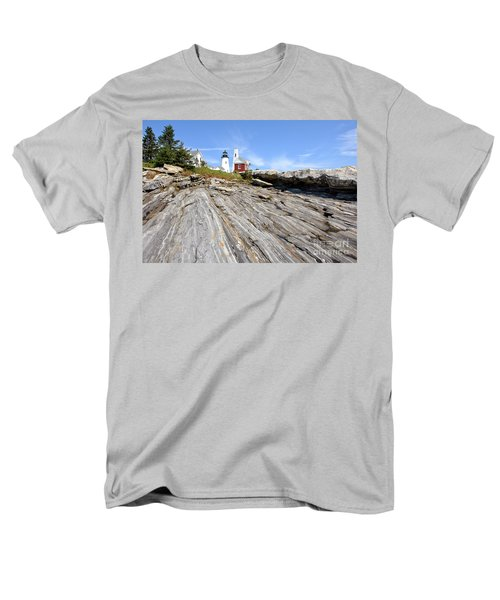 Pemaquid Point Lighthouse in Maine T-Shirt by Olivier Le Queinec