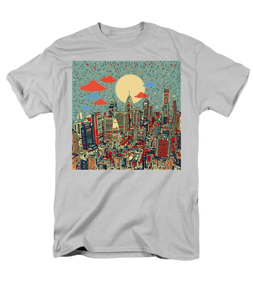 Philadelphia Dream 2 Men's T-Shirt  (Regular Fit) by Bekim Art