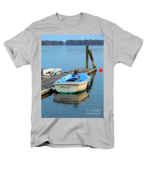 Piglet Men's T-Shirt  (Regular Fit) by Elizabeth Dow