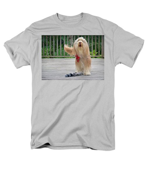 Men's T-Shirt  (Regular Fit) featuring the photograph Play With Me by Keith Armstrong