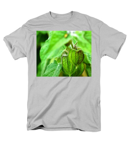 Poha Berry Lanterns Men's T-Shirt  (Regular Fit) by Lehua Pekelo-Stearns
