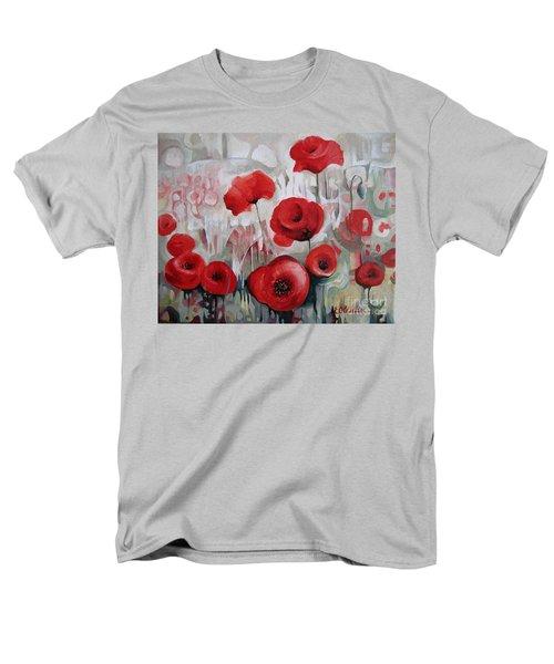 Poppy Flowers Men's T-Shirt  (Regular Fit)