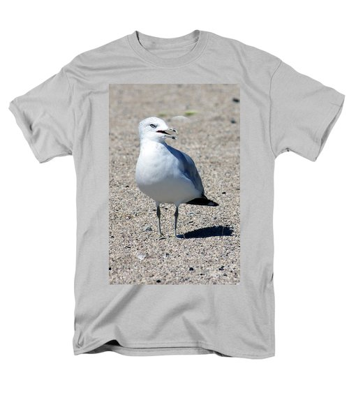 Men's T-Shirt  (Regular Fit) featuring the photograph Posing Gull by Debbie Hart