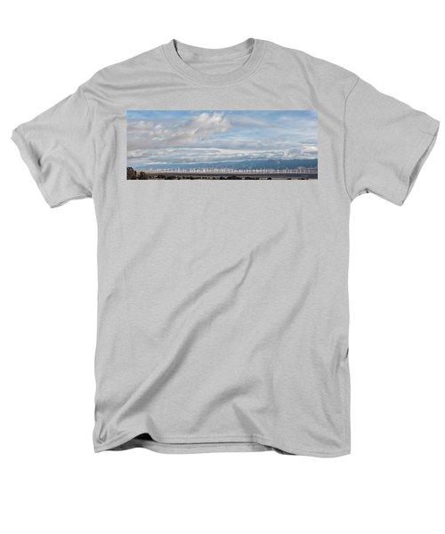 Men's T-Shirt  (Regular Fit) featuring the photograph Power From The Wind In Western Skies by Michael Flood