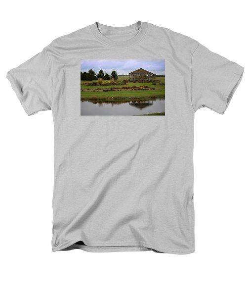 Men's T-Shirt  (Regular Fit) featuring the photograph Prairie Arboretum  by Rebecca Davis