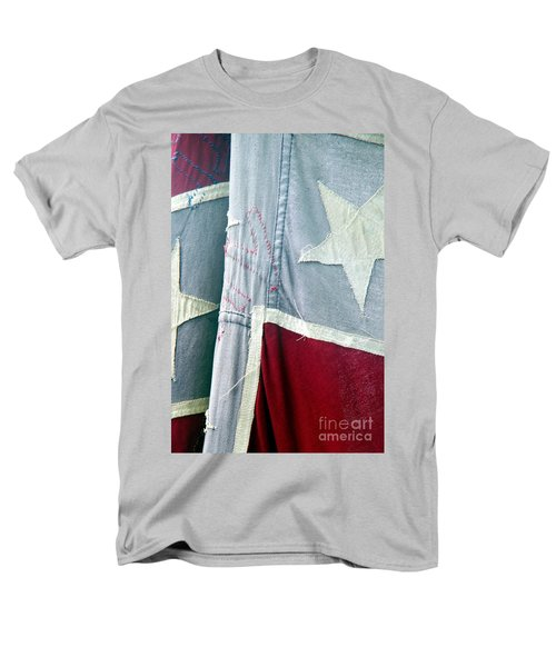 Men's T-Shirt  (Regular Fit) featuring the photograph Primitive Flag by Valerie Reeves