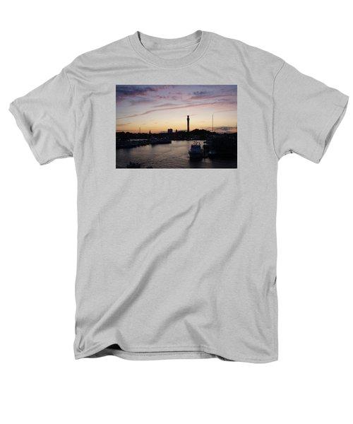 Provincetown Sunset Men's T-Shirt  (Regular Fit) by Robert Nickologianis