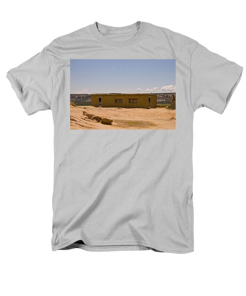 Pueblo Home Men's T-Shirt  (Regular Fit) by James Gay