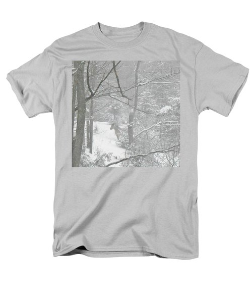 Querida In The Snow Storm Men's T-Shirt  (Regular Fit) by Patricia Keller