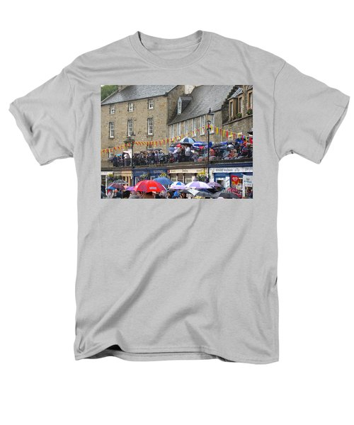 Men's T-Shirt  (Regular Fit) featuring the photograph Rain On The Parade by Suzanne Oesterling