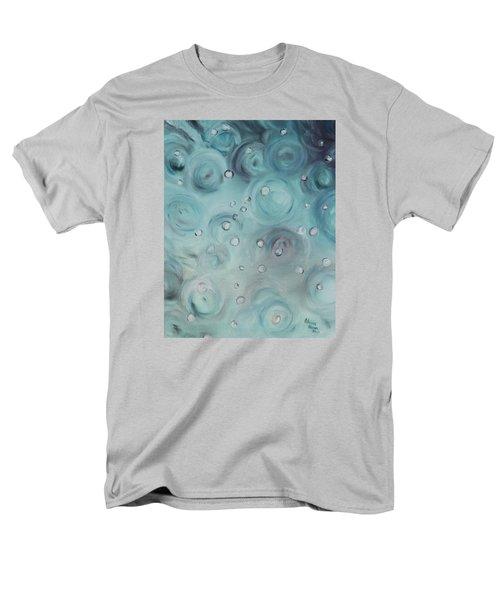 Raindrops Men's T-Shirt  (Regular Fit) by Patricia Olson