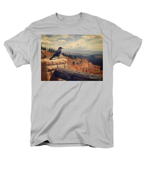 Raven's Eye View Men's T-Shirt  (Regular Fit) by Meghan at FireBonnet Art