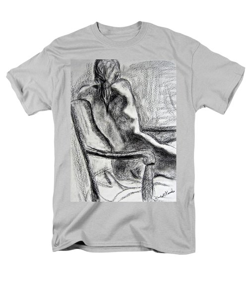 Reaching Out Men's T-Shirt  (Regular Fit) by Kendall Kessler