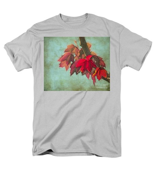 Red Maple Men's T-Shirt  (Regular Fit) by Judi Bagwell