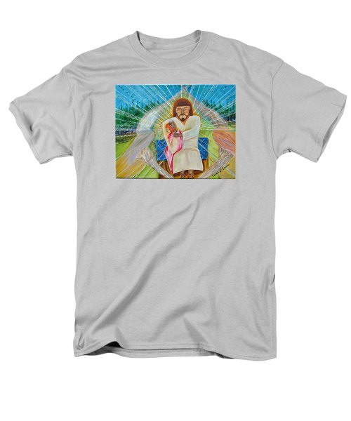 Men's T-Shirt  (Regular Fit) featuring the painting Redeemed by Cassie Sears