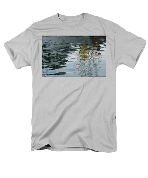 Men's T-Shirt  (Regular Fit) featuring the photograph Reflecting On Autumn Trees by Georgia Mizuleva