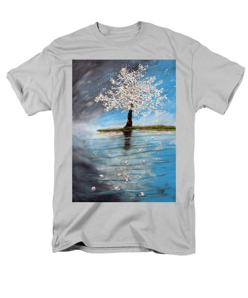 Reflection Men's T-Shirt  (Regular Fit) by Meaghan Troup